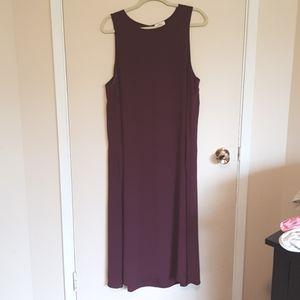 Wilfred sleeveless silk maxi dress with pockets